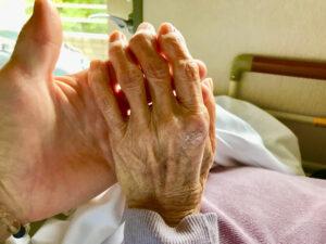 ばあちゃんの「手」を見て感じたこととは?