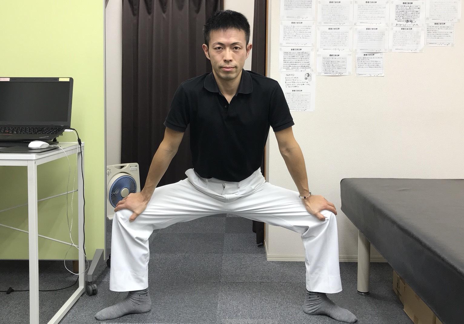 【動画あり】股関節が内旋(内股)してる人への効果的なストレッチ②