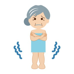 入浴後に体がすぐ冷えてしまう。それを解決する方法は5秒間〇〇すること!