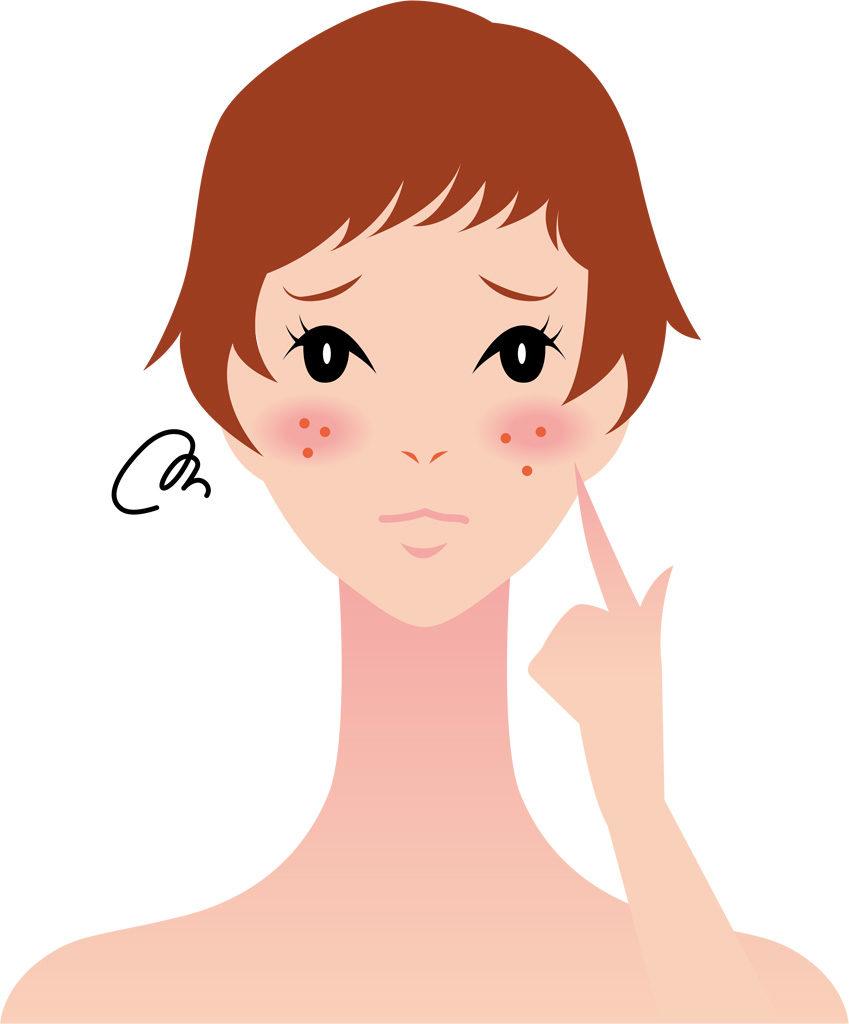 お肌のトラブルには細胞を内側から保湿する〇〇を食べよう!