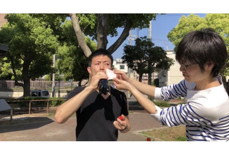【動画あり】メントスとコーラを同時に口の中に入れると、一体どうなるのか!!?大西が実験してみました!